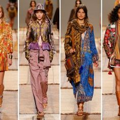 Etro showcased its Spring/Summer 2017 Womenswear Fashion Show during Milan Fashion Week on September 23, 2016. Here are the color codes we decoded from Etro's Spring/Summer 2017 Ready-to-Wear collection. Photo credits: ETRO, Courtesy of www.etro.
