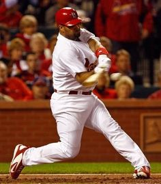"""Albert Pujols....An Angel player now. Quote from him....""""I try to spend as much time as possible with God and my family. That's more important than anything I'm doing in baseball."""" (Source: Pujols: More Than the Game (Scott Lamb, Thomas Nelson Publishers, 02/22/2011, Page 131)"""
