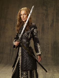 "Keira Knightley, ""Pirates of the Caribbean: At World's End"", 2007 #sword"