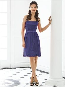 After Six Bridesmaid Dress 6650    #purple #bridesmaid #dress