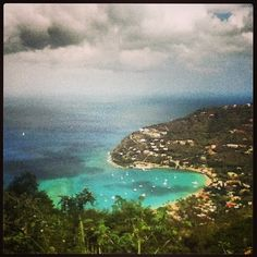 Overlooking Cane Garden Bay, Tortola ~ a magical, beautiful place