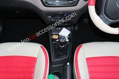 Hyundai i20 Elite Customized Car Seat Cover From FEATHER at LEO Car Accessories