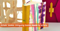Intriguing books made by artists. Artists, Contemporary, Illustration, Books, Home Decor, Livros, Artist, Book, Livres