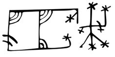 Icelandic Magical Staves Dreprún To kill an enemy's cattle. A particularly nasty fate in times when a family would survive by their livestock Icelandic Runes, Time Tattoos, Evil Spirits, Techno, Hand Lettering, Typography, Symbols, Writing, Cattle