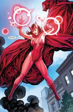 Scarlet Witch.. Another Avenger lady. :)