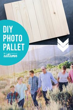 Learn the best trick for transferring a photo to wood with this simple DIY photo pallet. The best way to do a mod podge photo transfer.