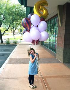 great mix of helium ballons