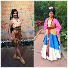 New Look for Pocahontus and Mulan at Walt Disney World