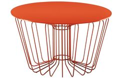 spirograph inspired table