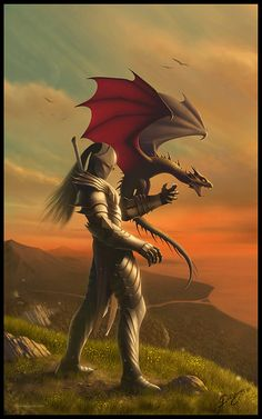 The Dragon Tamer by Deligaris.deviantart.com