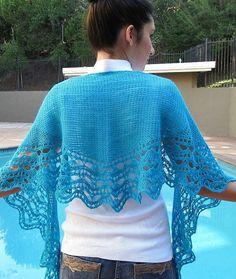 Marina Crescent shaped Shawl - PDF Tunisian crochet pattern (purchase). I would like this in cream.