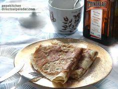 Cómo hacer crêpes, receta paso a paso, ingredientes, fotos, enlaces a recetas de crepes con chocolate, tartas o con salsa de caramelo. Información nutriciona...