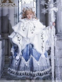Beautiful Outfits, Cool Outfits, Mode Lolita, Fantasy Dress, Kawaii Clothes, Vintage Style Dresses, Tips Belleza, Character Outfits, Lolita Dress