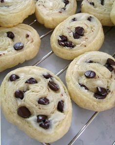 Chocolate Chip Cream Cheese Cookies - So Easy and Sooo Delicious!