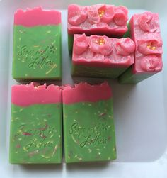 Apple Blossom... A fresh, crisp, tart scent, reminiscent of granny smith apples. All soaps are formulated with skin loving ingredients including olive oil, rice bran oil, loads of shea butter, fresh coconut milk, colloidal oatmeal and kaolin clay.