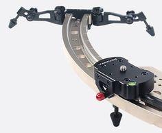CURVED Slider Track Dolly for Dslr Video Camera