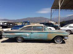 1960 Chevy rare belair ht.