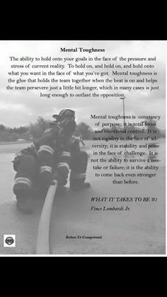 Mental toughness Female Firefighter Quotes, Firefighter Training, Firefighter Paramedic, Volunteer Firefighter, Firefighters, Firemen, Fire Dept, Fire Department, Volunteer Gifts