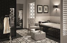 Modna łazienka – płytki jak cegły  - zdjęcie numer 12