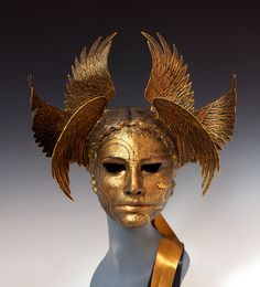 VANTH Etruscan Psychopomp  original cast. by TheArtOfTheMask