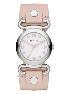 Stainless Steel Molly Watch, 30mm from Marc by Marc Jacobs Watches on Gilt