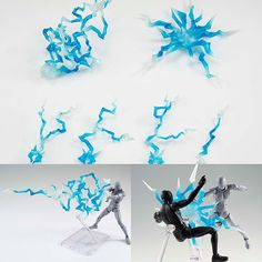 Tamashii Effect Thunder Blue Version  Now available in stock from: www.figurecentral.com.au  #shfiguarts #tamashiieffect #bandai #figurecentral