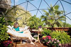 Versatile Garden Igloo Geodesic Dome Pops Up in a Snap in Any Backyard Garden Igloo - Gallery Page 1 – Inhabitat - Sustainable Design Innovation, Eco Architecture, Green Building