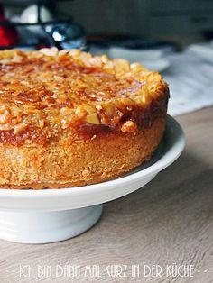 Die LISA Küchenflüsterin über die süßen Seiten des Lebens: Apfelkuchen mit Florentinerkruste