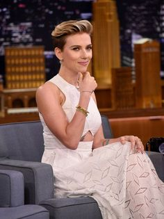 Scarlett Johansson Visits 'The Tonight Show Starring Jimmy Fallon'