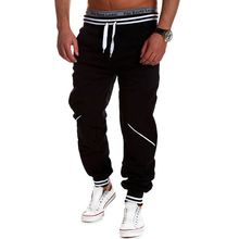 Harem Pantalones de Moda Casual Nuevo Estilo de Chándal Flacos Pantalones Pantalones Tiro Caído Pantalones Hombres Pantalones de Chándal Sarouel(China (Mainland))