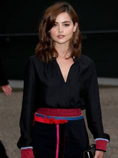 Jenna Coleman at the Tate Modern opening, June 16, 2016.