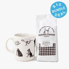 BarkBlend Coffee & Dogs Mug