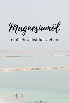 Tote Meer enthält wichtige Mineralien für Magnesiumoel selbst herstellen