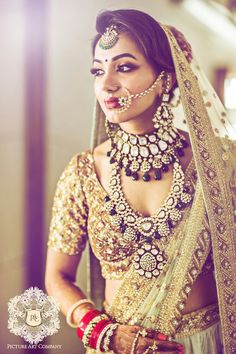 Fulfill a Wedding Tradition with Estate Bridal Jewelry Indian Wedding Bride, Indian Wedding Jewelry, Indian Wedding Outfits, Bridal Outfits, Indian Bridal, Bridal Jewelry, Bridal Dresses, Indian Weddings, Indian Jewelry