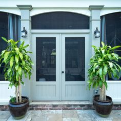 Beadboard Double Screen Doors - The Porch Company Double Screen Doors, Single Doors, Screened Porch Doors, Porch Swing, Porch Railings, Front Porches, Porch Kits, Porch Ideas, Patio Ideas