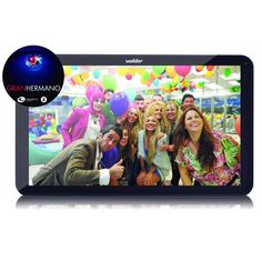 "Tablet Wolder Baltimore 9"" Gran Hermano 15 BigButton #iphone #blogtecnologia #tecnologia"