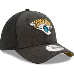 premium selection 60512 b3e05 New Era Men s Jacksonville Shadow 39Thirty Flex Hat Jacksonville Jaguars,  Shrimp, Nfl, Baseball