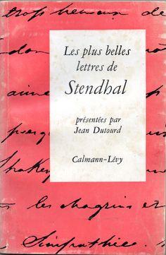 Les plus belles lettres de Stendhal   VITALIVROS