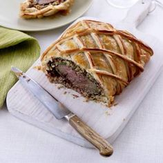 A wonderfully stylish take on a classic Beef Wellington, with chestnuts and sun-dried tomatoes.