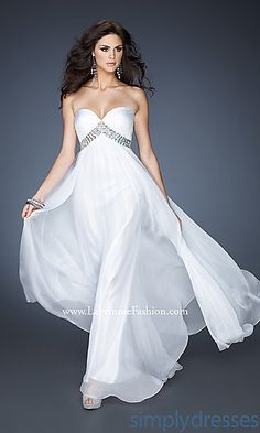 Elegant Strapless Sweetheart Dress at SimplyDresses.com