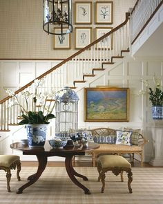 8 Secrets to Having a Gorgeous Entrance Foyer - laurel home | lovely design by Scott Snyder