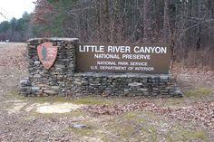 6. Little River Canyon National Preserve - Fort Payne, AL