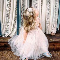 Flower girl Dress BlushSee more here