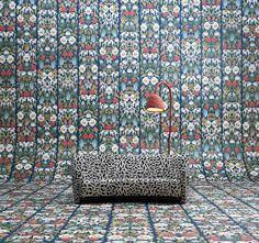 Studio Job revisited its archive to create a unique wallpaper range for Dutch brand NLXL