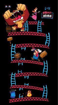 Donkey Kong vs. Super Mario Bros.