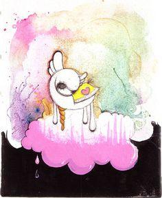 Birtak Abstrait by Fafi