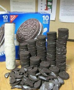 OREOS. I want to do this and just eat all of the cookies.