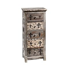 The Design Toscano Gothic Sanctuary Five Drawer Chest is a great touch for spaces with décor ranging from shabby chic to spooky-glam. This piece. Gothic Furniture, Entryway Furniture, Classic Furniture, Accent Furniture, Home Furniture, Furniture Ideas, Furniture Design, Dream Furniture, Dark Furniture