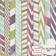 Full-on Chevron (one) :: Papers :: Memory Scraps
