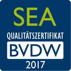 """Das Bundesverband Digitale Wirtschaft e. V. (BVDW) hat iProspect mit dem """"SEA-Qualitätszertifikat"""" 2017 ausgezeichnet."""